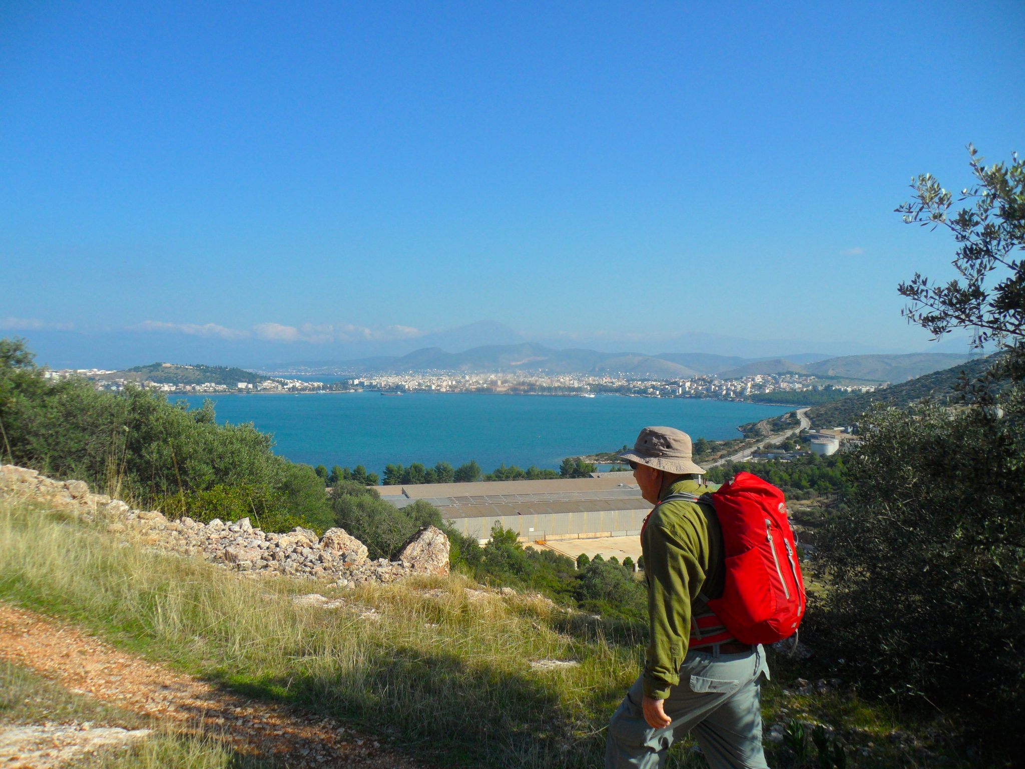 Hiking / Chalkis to Tzivani Winery