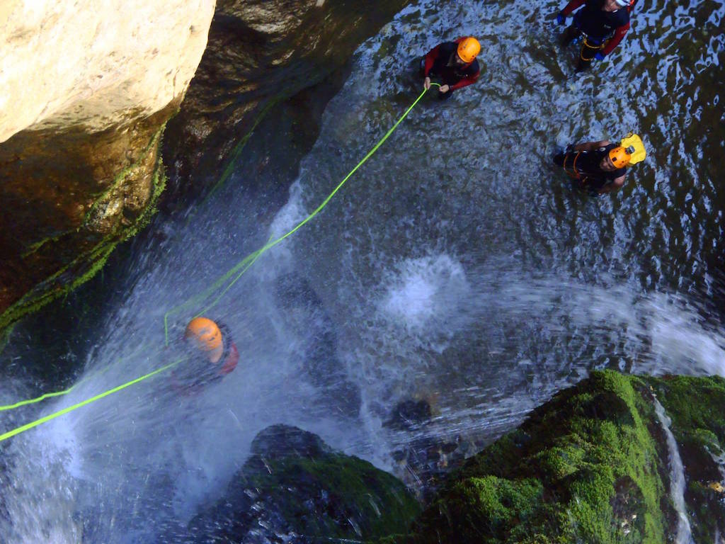 Canyoning / Chavos gorge