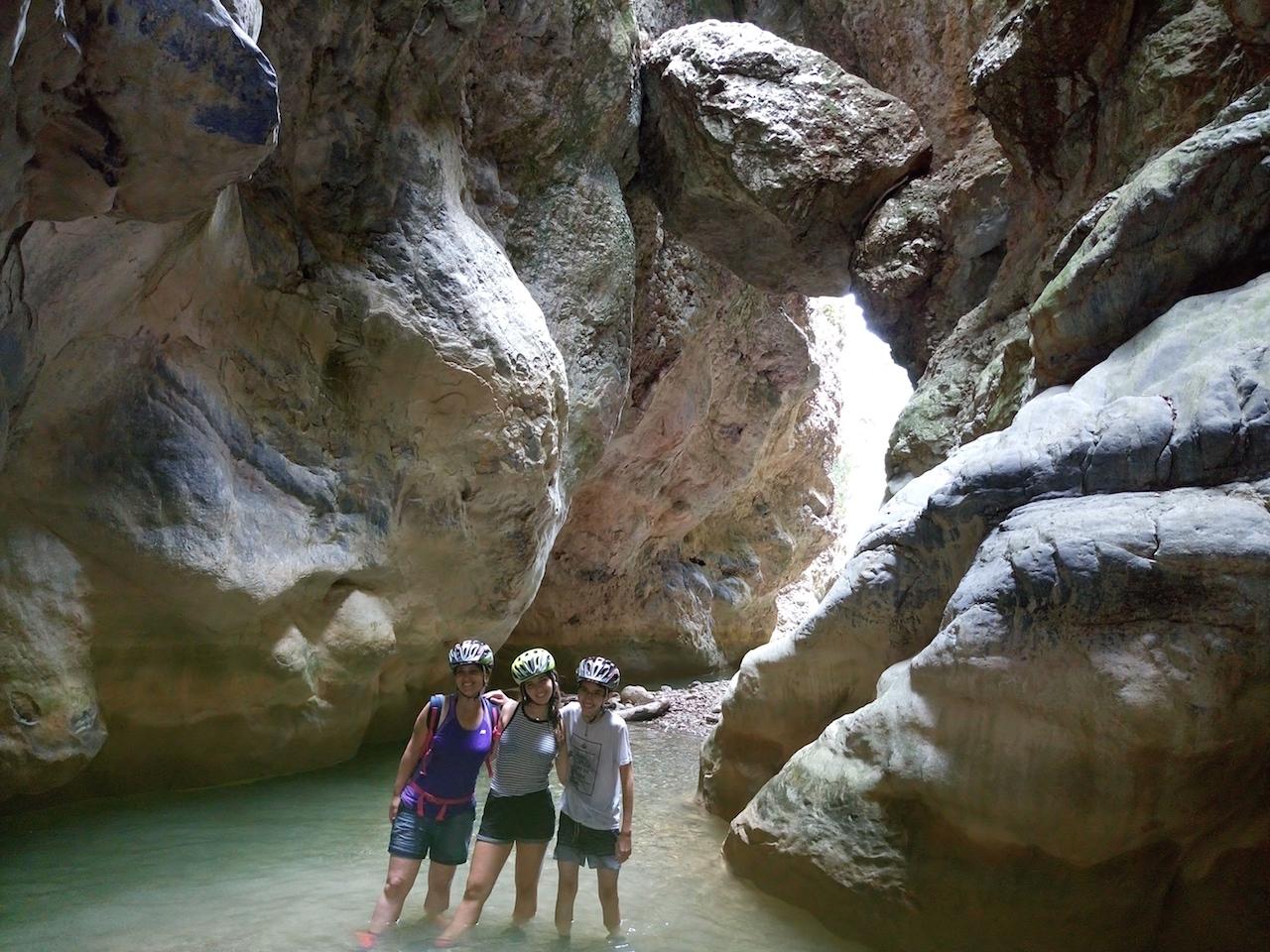 "River Trekking / Nileas ""Bolovinena"" Gorge"