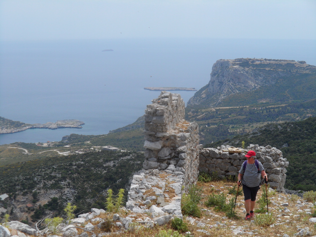 Trekking / Kymi to St. George Castle