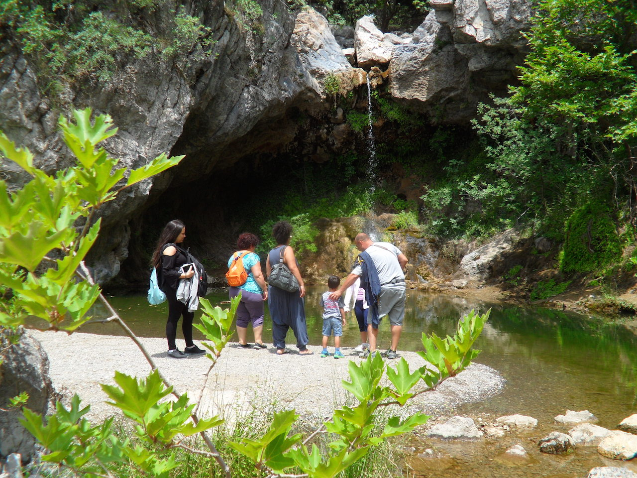 Hiking / Drimonas waterfalls (Family Walk)