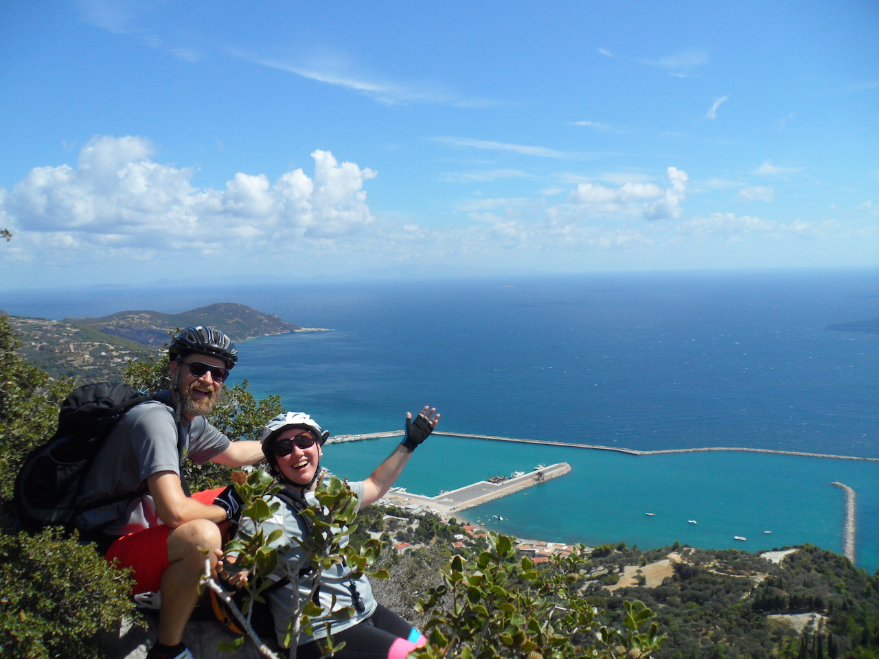 Cycling / The villages of Kymi