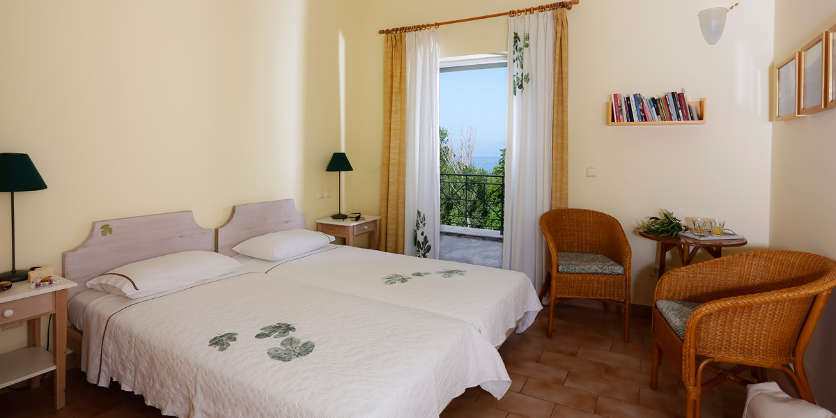 Eleonas, Twin Room with 2 Single Beds