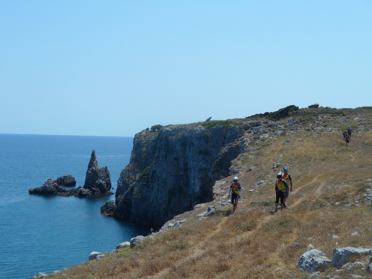 Hiking / Cliff Walking along Ancient Kirinthos (Family Walk)